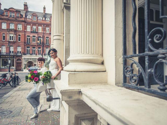 Federica and Daniela's Wedding in London, United Kingdom 1