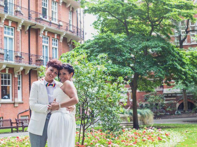 Federica and Daniela's Wedding in London, United Kingdom 8