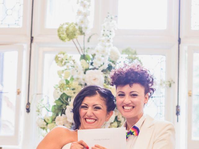 Federica and Daniela's Wedding in London, United Kingdom 11