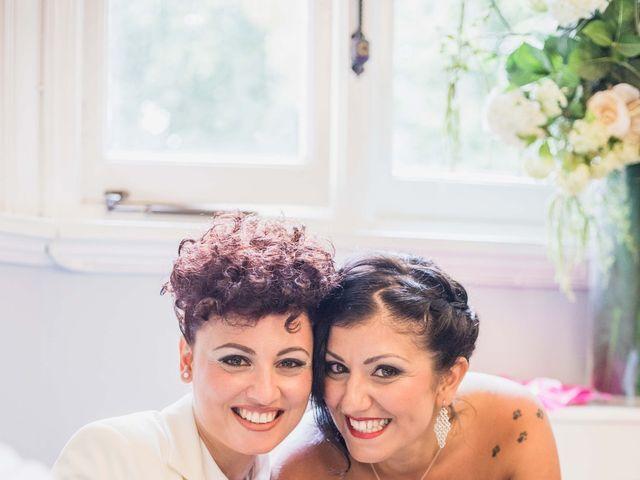 Federica and Daniela's Wedding in London, United Kingdom 12