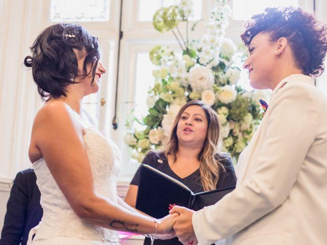 Federica and Daniela's Wedding in London, United Kingdom 14