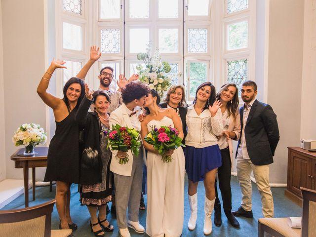 Federica and Daniela's Wedding in London, United Kingdom 20
