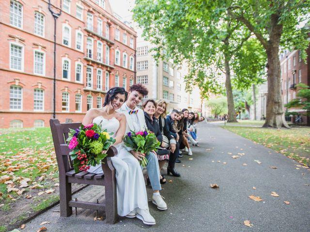 Federica and Daniela's Wedding in London, United Kingdom 22