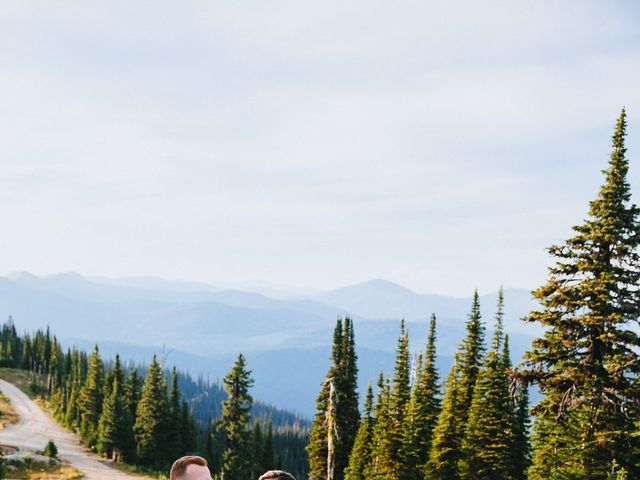 Norman and Tyler's Wedding in Whitefish, Montana 17