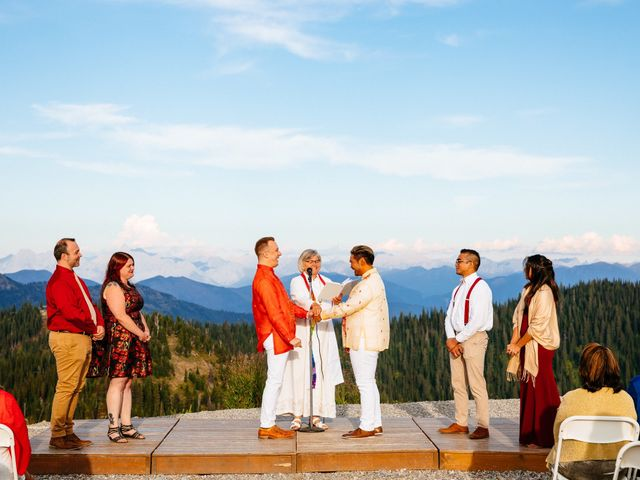 Norman and Tyler's Wedding in Whitefish, Montana 22