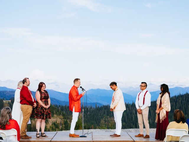 Norman and Tyler's Wedding in Whitefish, Montana 1