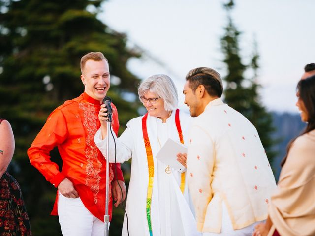 Norman and Tyler's Wedding in Whitefish, Montana 24