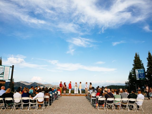 Norman and Tyler's Wedding in Whitefish, Montana 27