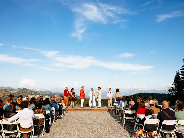 Norman and Tyler's Wedding in Whitefish, Montana 28