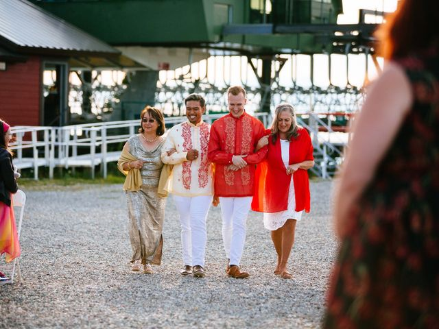Norman and Tyler's Wedding in Whitefish, Montana 30