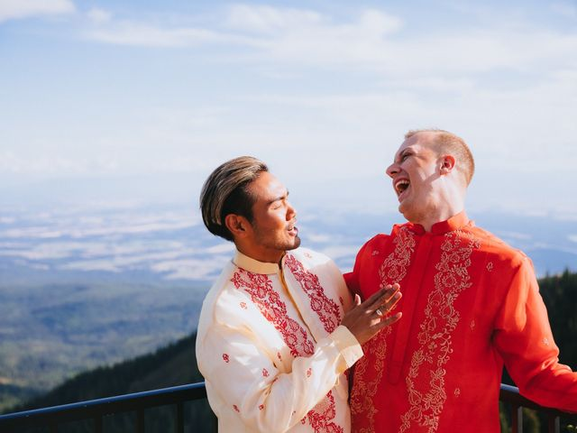 Norman and Tyler's Wedding in Whitefish, Montana 2