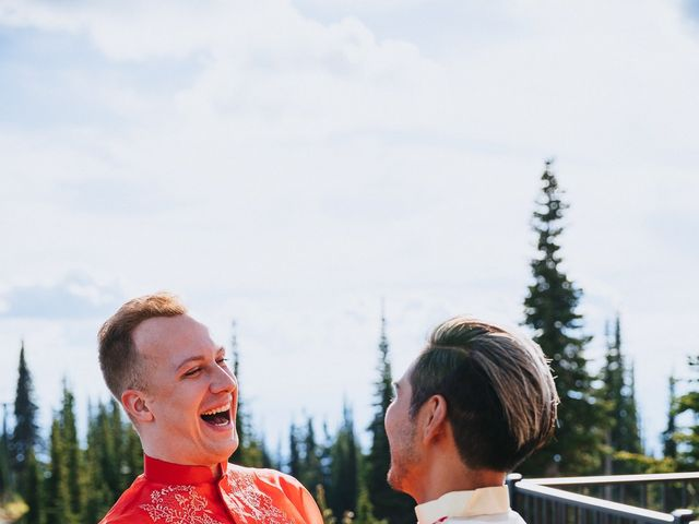 Norman and Tyler's Wedding in Whitefish, Montana 34