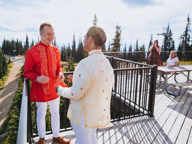 Norman and Tyler's Wedding in Whitefish, Montana 35