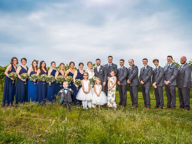 Charles and Courtney's Wedding in Maple Park, Illinois 16