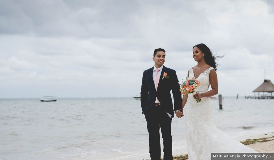 Newaf and Aidi's Wedding in Cancun, Mexico