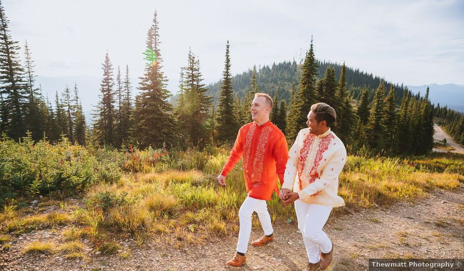 Norman and Tyler's Wedding in Whitefish, Montana