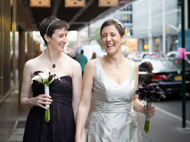 The wedding of Kate and Stephanie