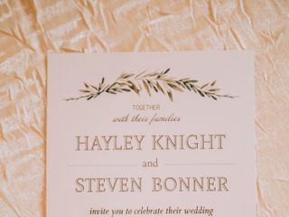 The wedding of Hayley and Steven 3