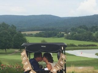 The wedding of Kaytie Russo and Jamie Costic  1
