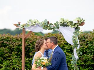 The wedding of Kaytie Russo and Jamie Costic  2