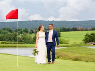 The wedding of Kaytie Russo and Jamie Costic