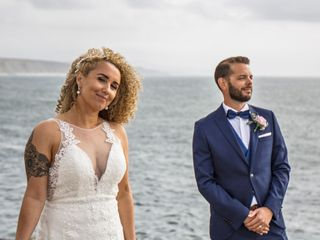 The wedding of Silvia and Tim