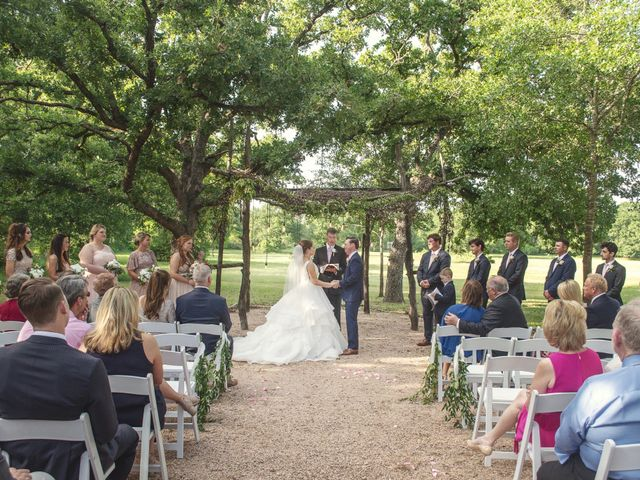 Adam and Courtney's Wedding in College Station, Texas 10