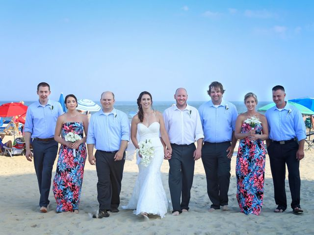 Dan and Allie's Wedding in Rehoboth Beach, Delaware 32