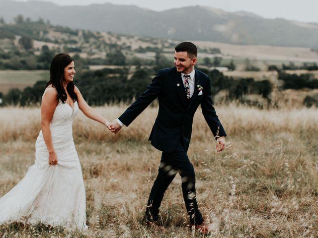 The wedding of Christine and Zack