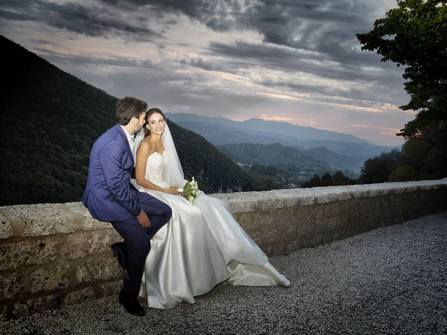 The wedding of Serena and Paolo