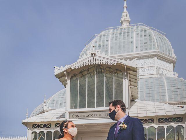 Jason and Sara's Wedding in San Francisco, California 91