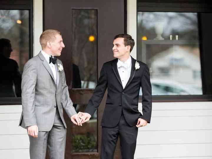 The wedding of Matthew and Wyatt