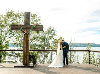 Cameron and Ashley's Wedding in Cherokee, Alabama 14
