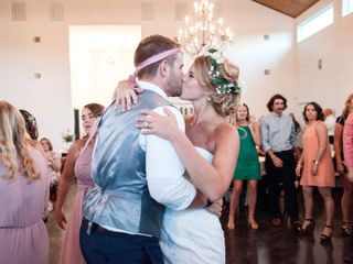 The wedding of Madeline and Austin 1