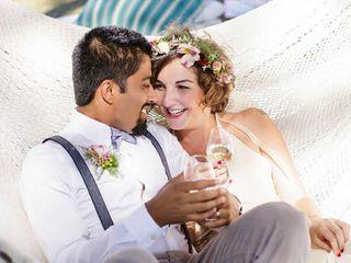 The wedding of Ram and Franzkisa