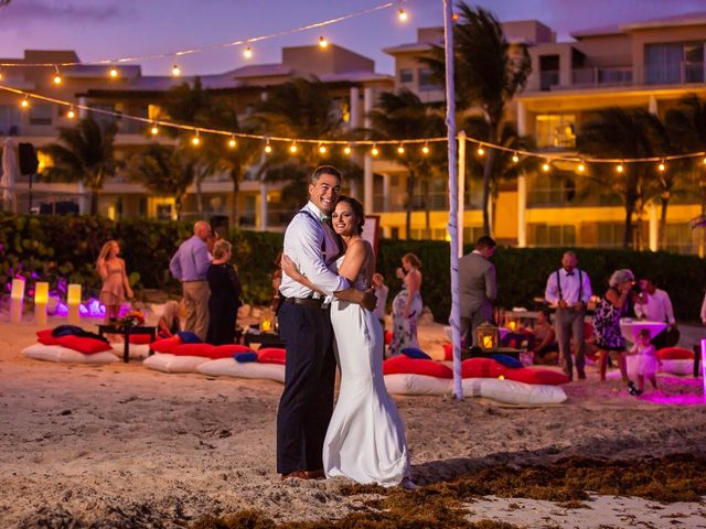 Clayton White and Brittney White's Wedding in Cancun, Mexico 3