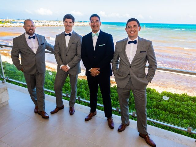Clayton White and Brittney White's Wedding in Cancun, Mexico 4