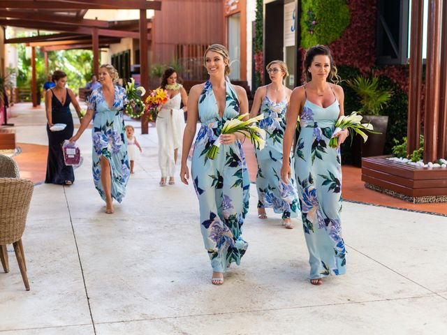 Clayton White and Brittney White's Wedding in Cancun, Mexico 6