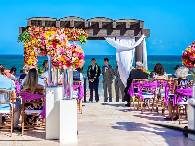 Clayton White and Brittney White's Wedding in Cancun, Mexico 1