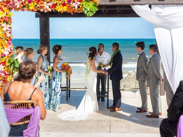 Clayton White and Brittney White's Wedding in Cancun, Mexico 7