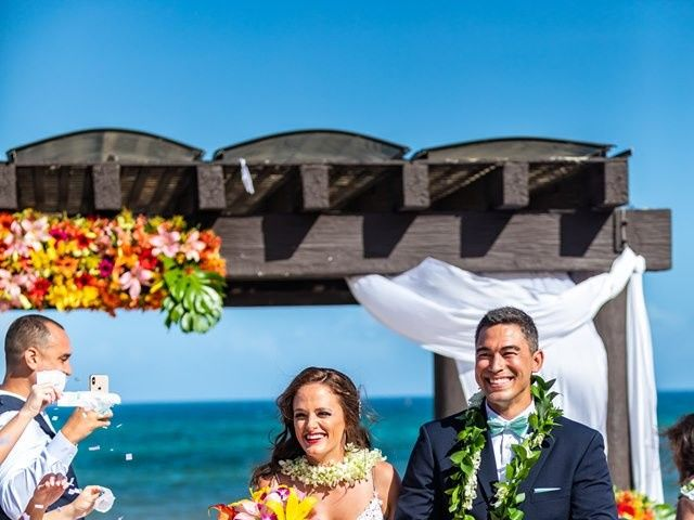 Clayton White and Brittney White's Wedding in Cancun, Mexico 8