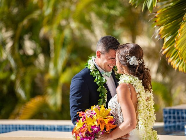 Clayton White and Brittney White's Wedding in Cancun, Mexico 10