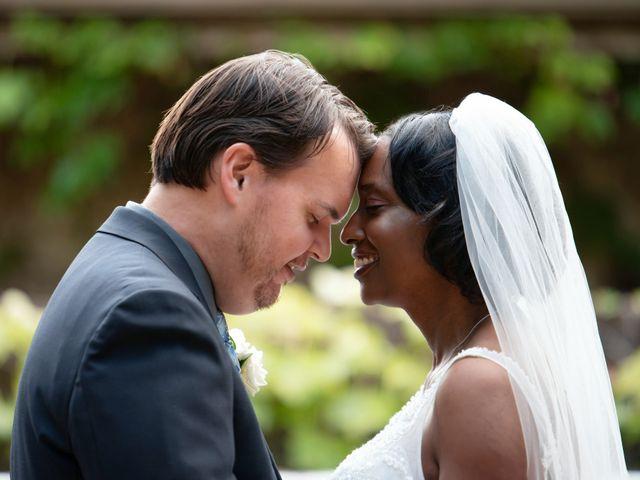 The wedding of Michael and Lisa