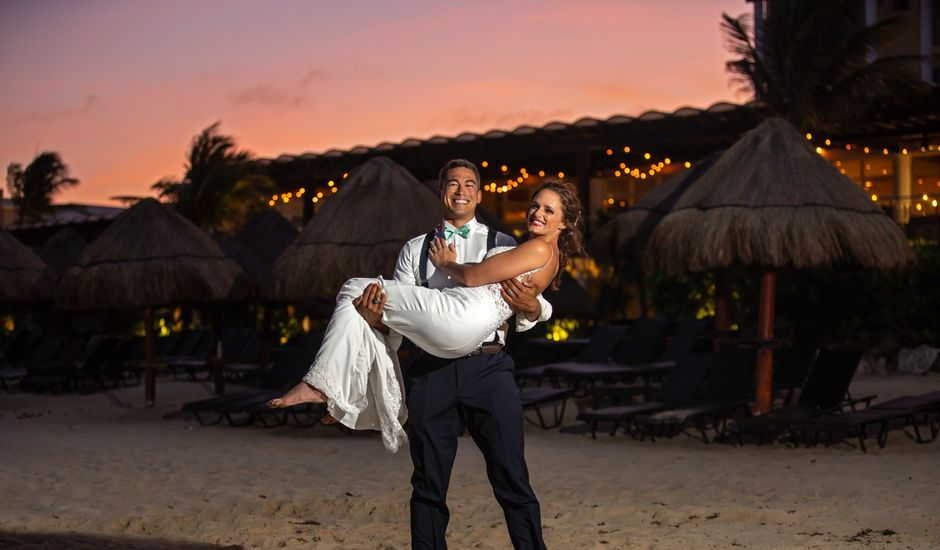 Clayton White and Brittney White's Wedding in Cancun, Mexico