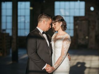 The wedding of Amber and Tyler