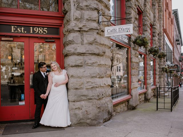 The wedding of Caitlin and Kaveh