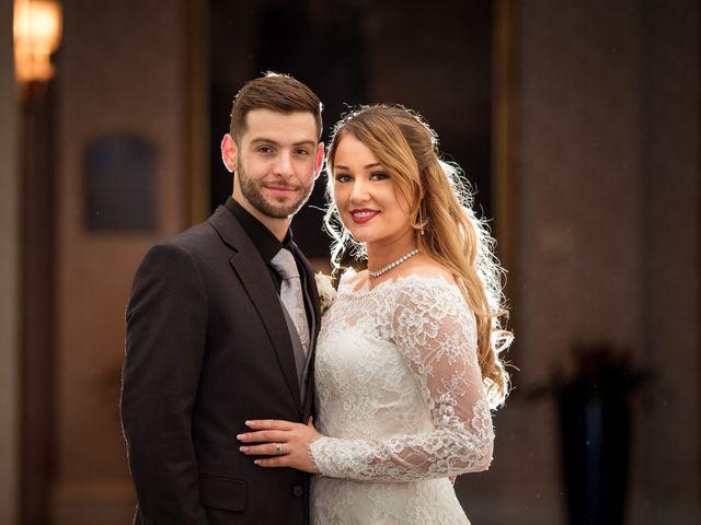 The wedding of Eva and Anthony