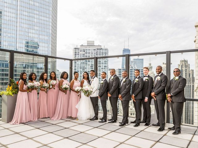 Karim and Marah's Wedding in Chicago, Illinois 10