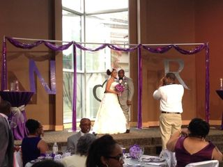 The wedding of Nikki and Roland