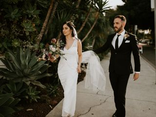 The wedding of Mariana and Adam